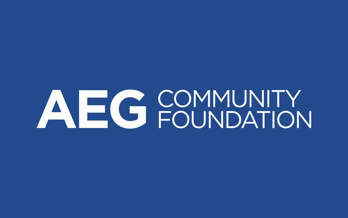 AEG Community Foundation Logo
