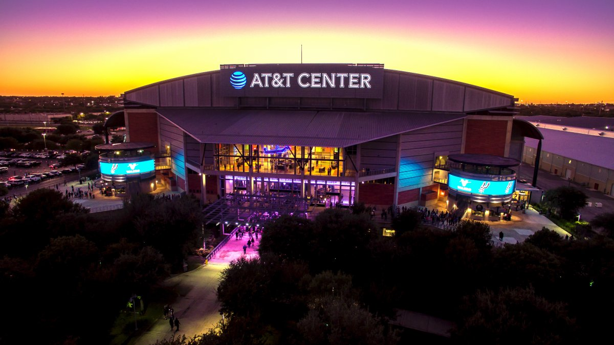 Exterior Image of AT&T Center