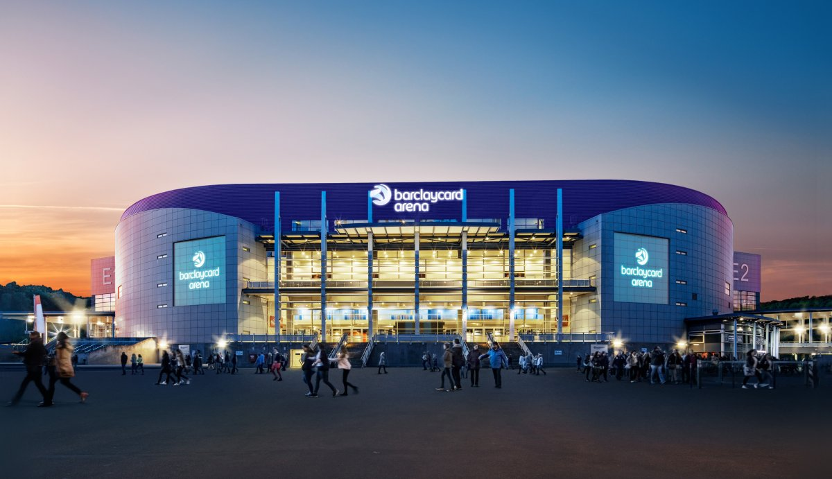 Exterior Image of Barclaycard Arena