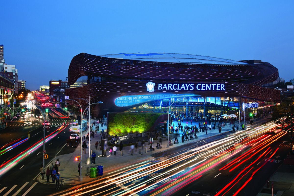 Exterior Image of Barclays Center