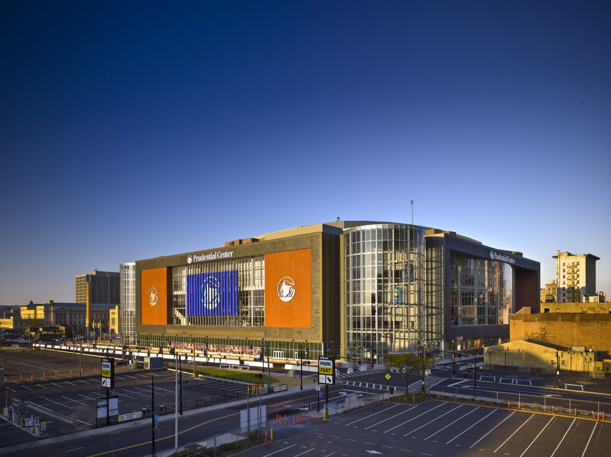 Exterior image of Prudential Center
