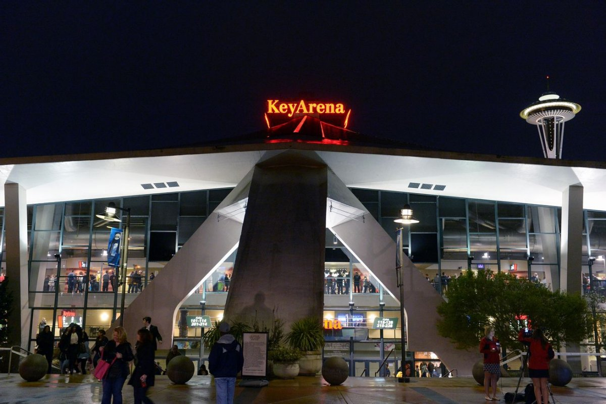 Exterior Image of Key Arena at Seattle Center