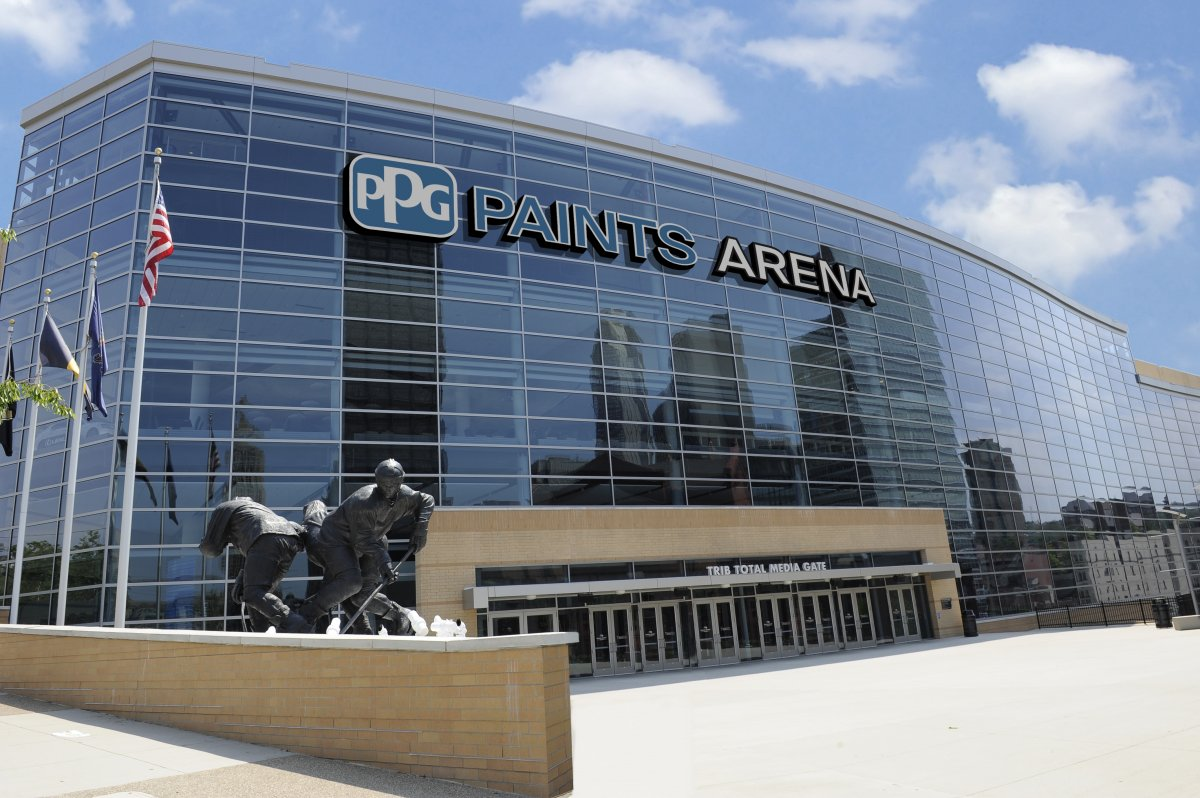 Exterior image of PPG Paints Arena