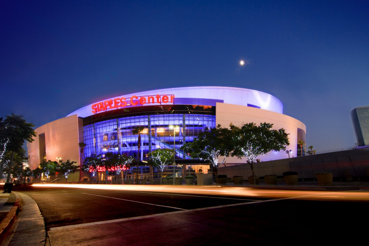Exterior image of STAPLES Center