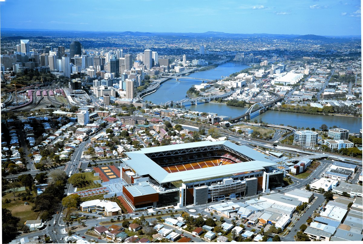 Aerial image of Suncorp Stadium