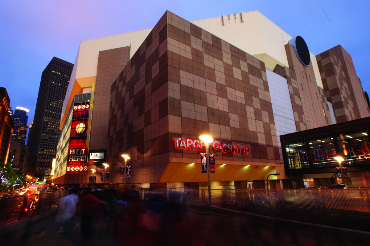 Exterior image of Target Center