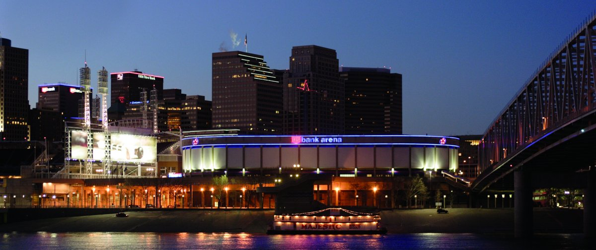 Exterior Image of US Bank Arena