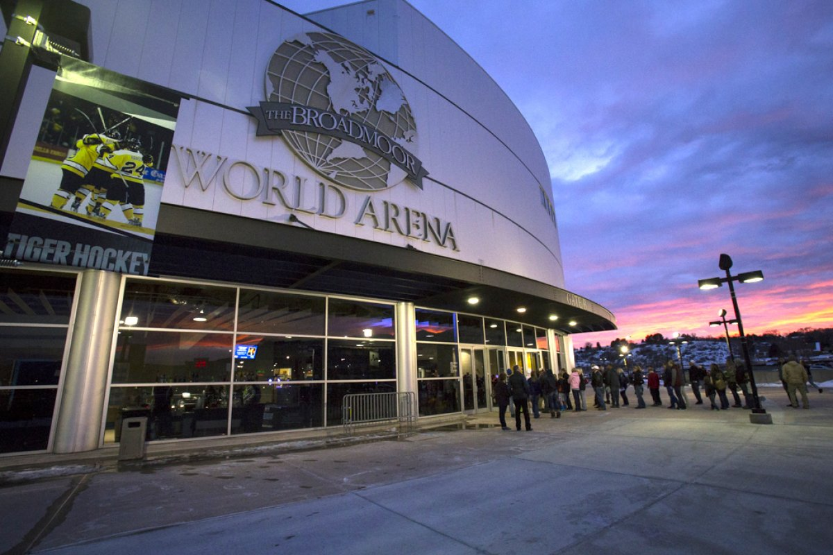 Exterior Image of Broadmoor World Arena