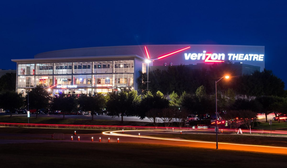 Exterior image of Verizon Theatre