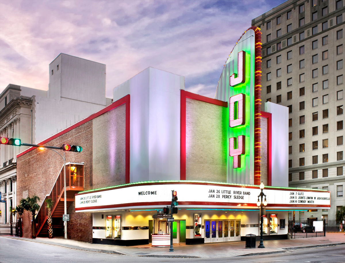 Exterior image of Joy Theater