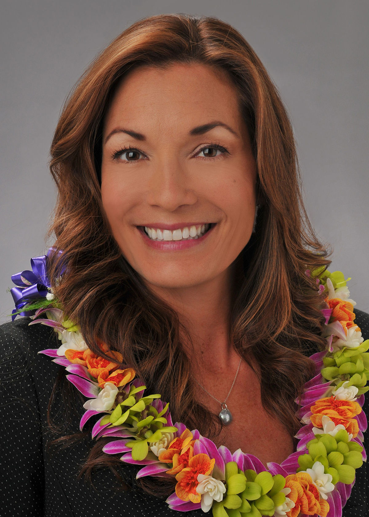 Hawaii Convention Center General Manager Teri Orton, recipient of the Women in Lodging & Tourism – Hawaii Chapter's 2018 Woman of the Year Award.