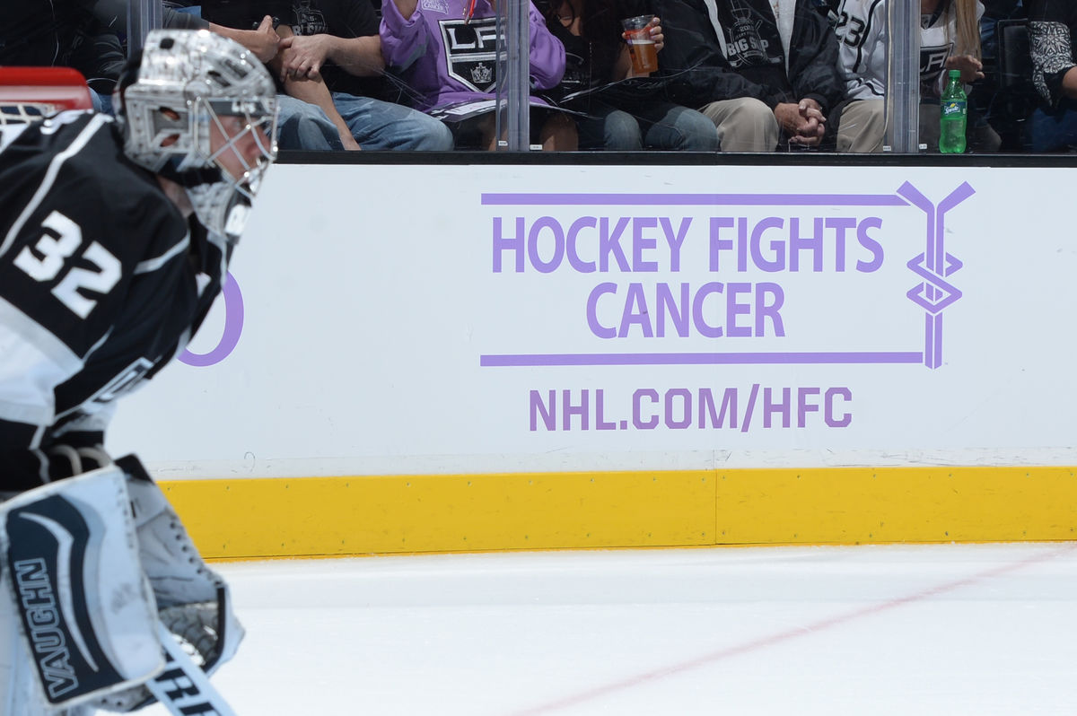 AEG's LA Kings to host annual Hockey Fights Cancer™ Night at STAPLES Center on Oct. 18.