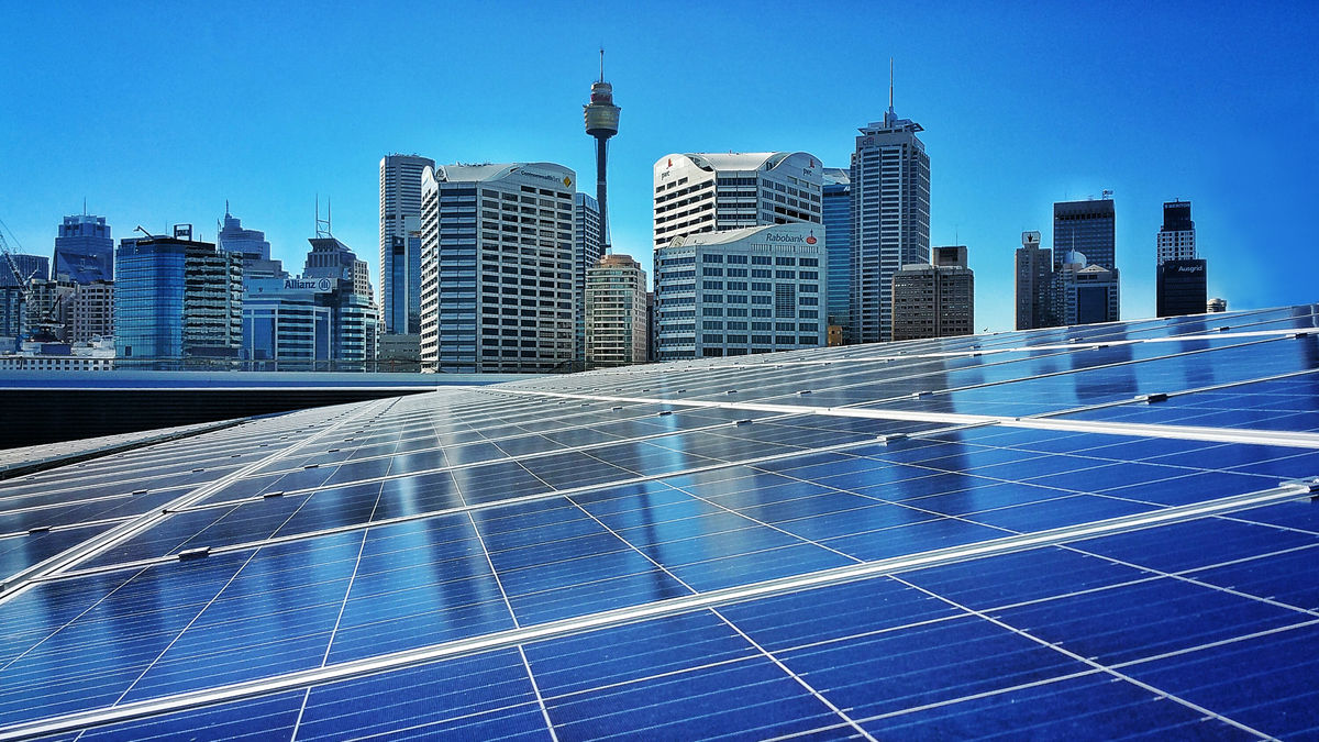 AEG's ICC Sydney, which received LEED® Gold Certification in sustainability, features a community funded solar array, Australia's largest in a CBD, that provides five percent of the venue's energy – enough to power 100 homes.