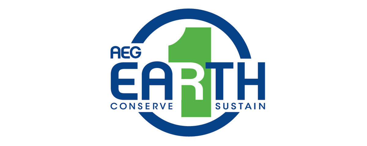 AEG 1EARTH Logo
