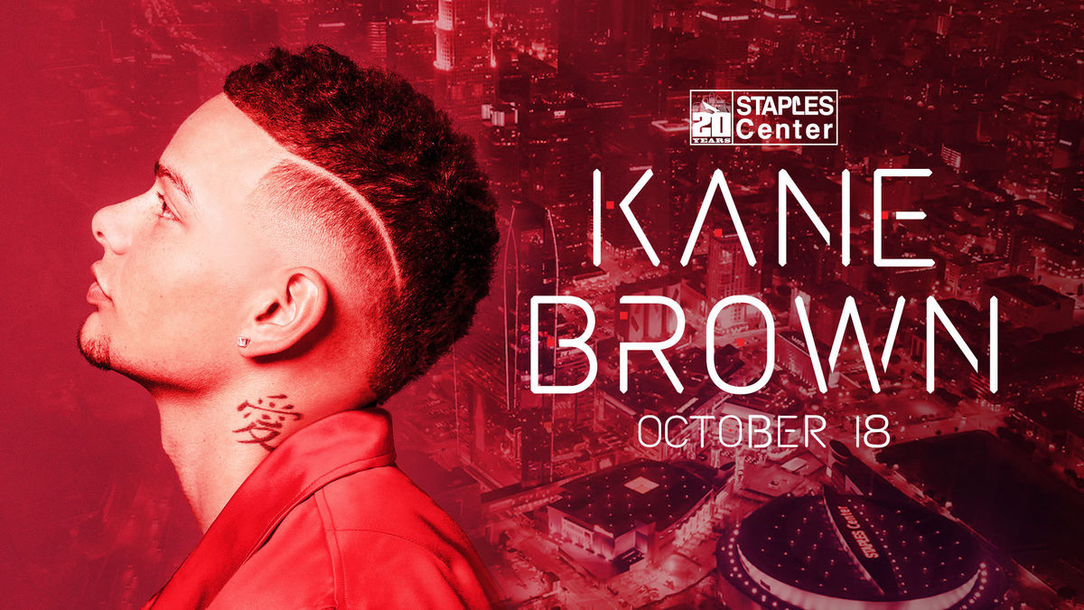 Multi-platinum selling breakout artist Kane Brown has been tapped to headline STAPLES Center's 20th anniversary concert at the