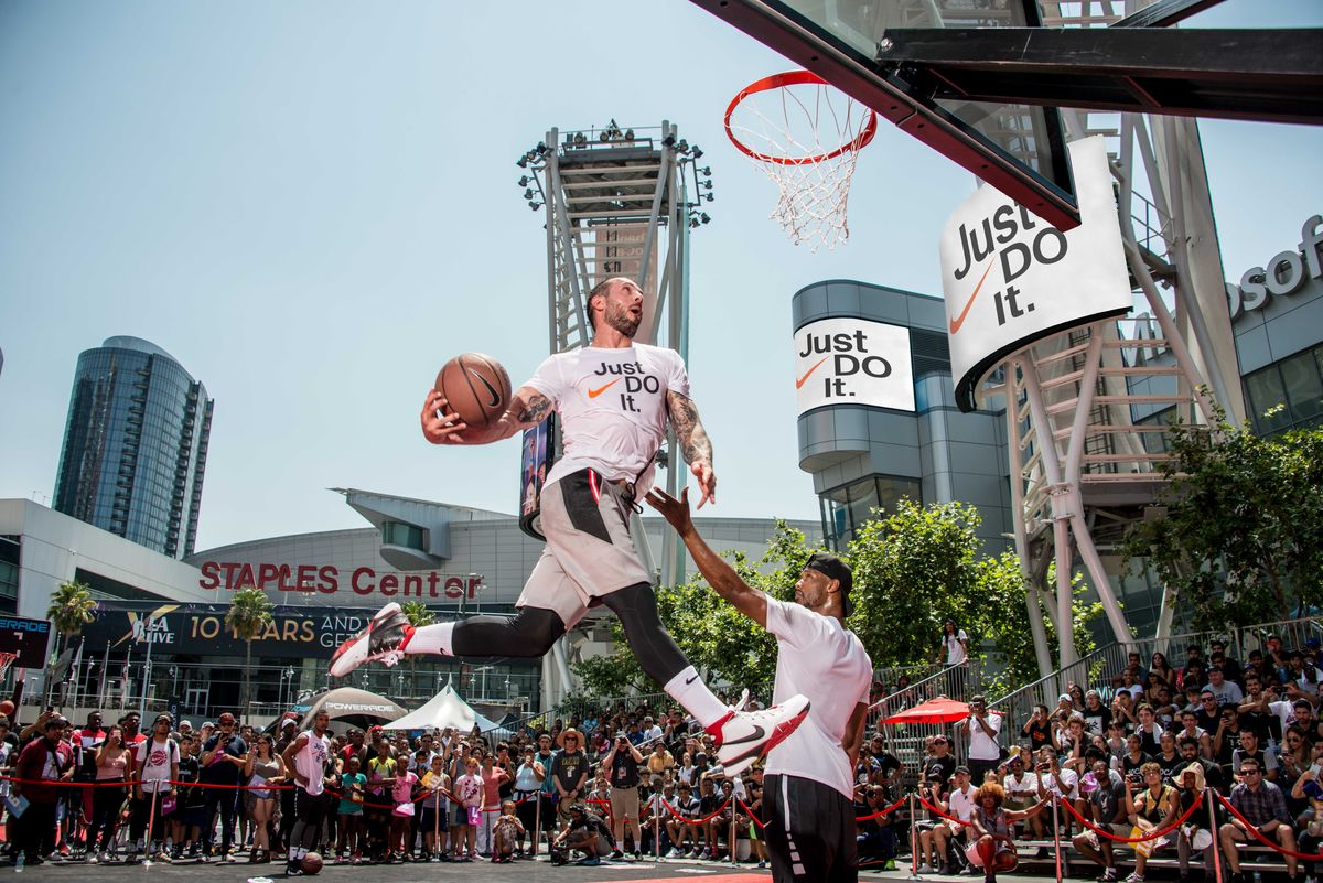 Nike Basketball 3ON3 Tournament, California's largest street basketball tournament, now in its 11th year will feature the high