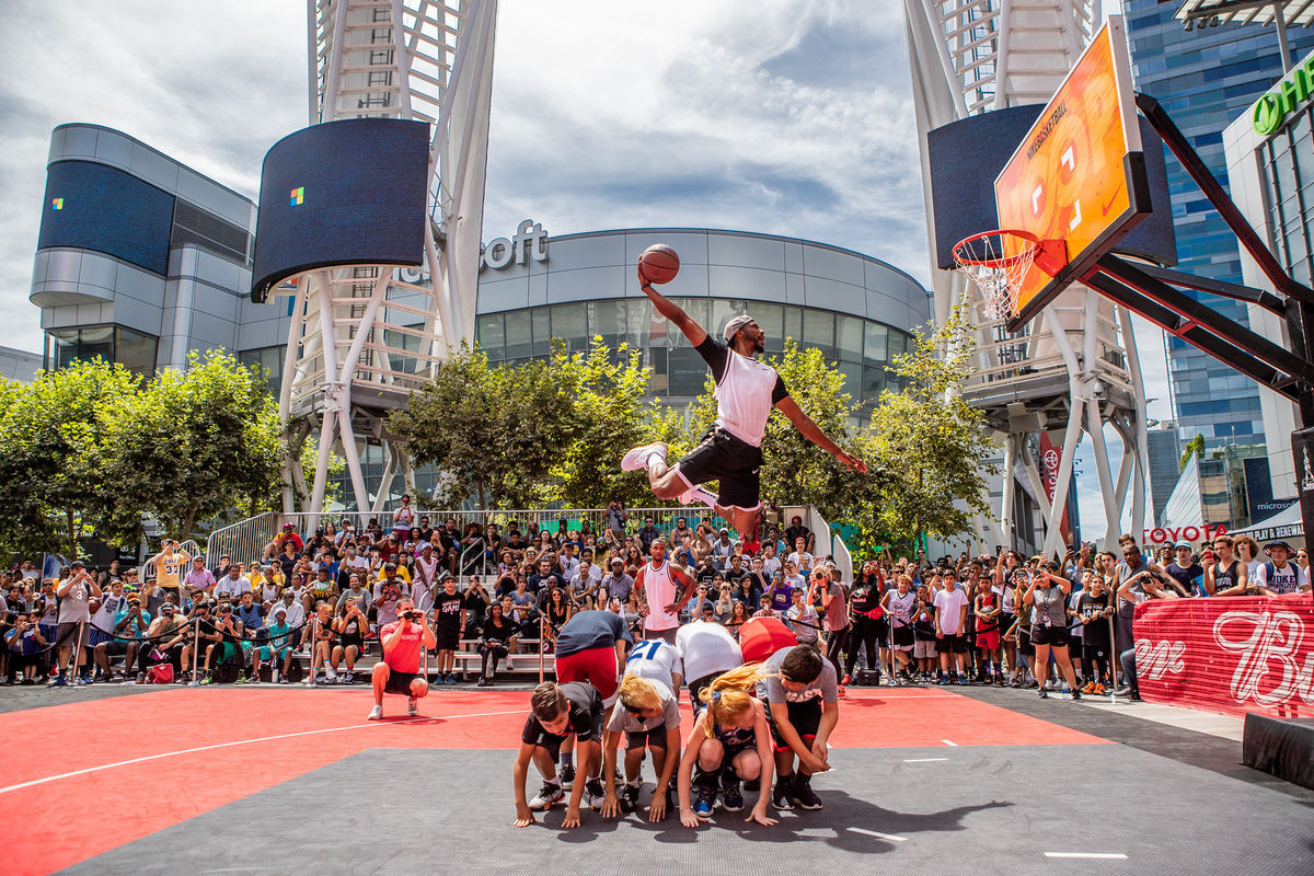 Nike Basketball 3ON3 Tournament at L.A. LIVE (Photo: Business Wire)