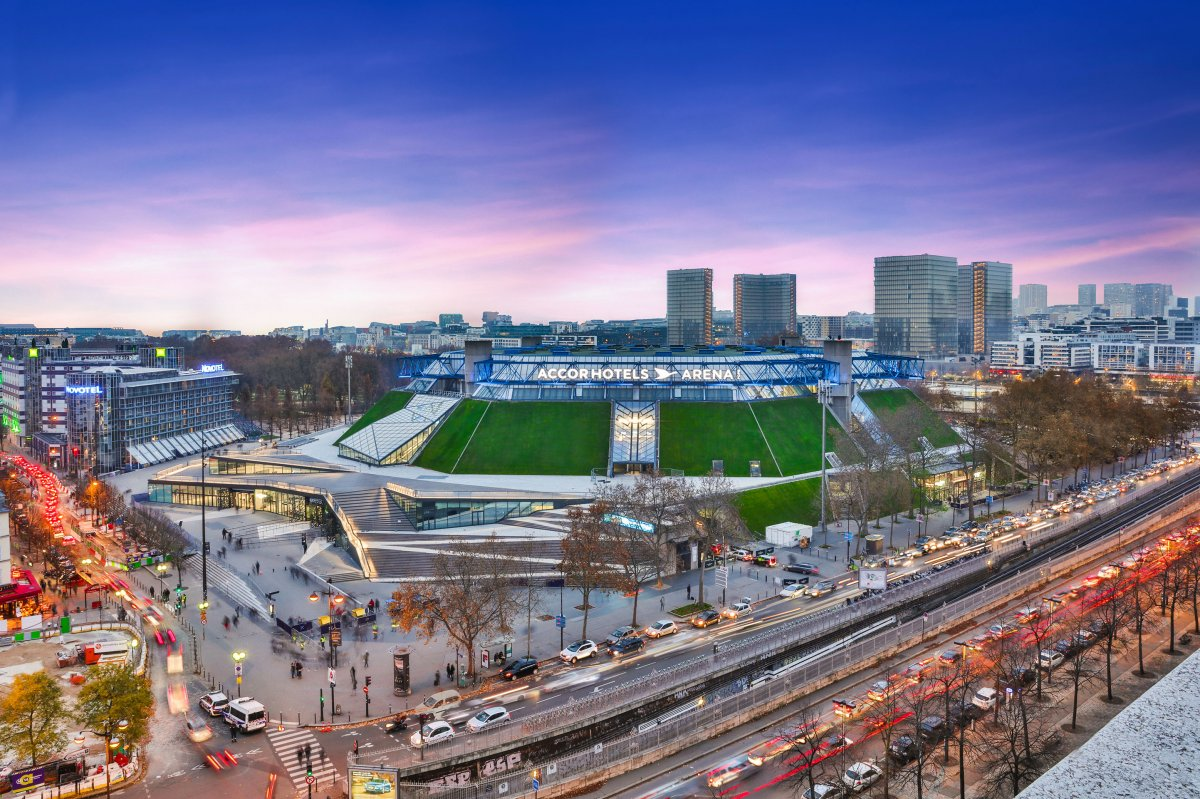 Exterior Image of AccorHotels Arena