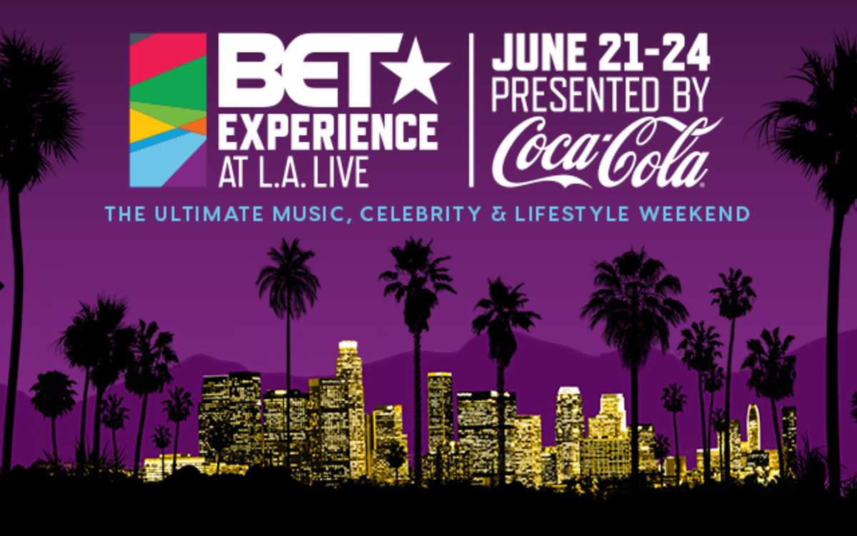 BET Experience at L.A. LIVE on June 21-24 logo