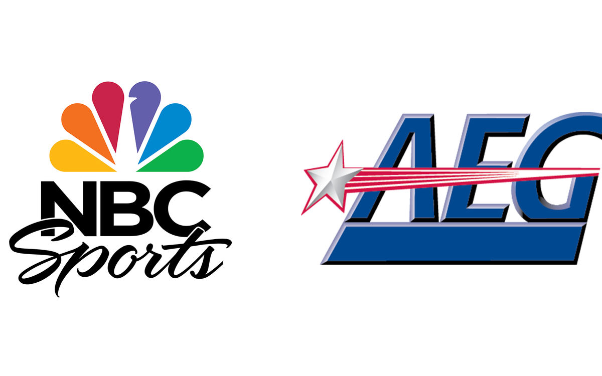 NBC Sports and AEG logo