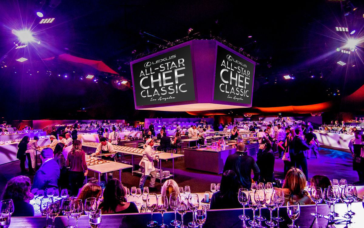 Lexus All-Star Chef Classic, which will take place October 2-5, 2019 at L.A. LIVE, offers a series of engaging experiences for g