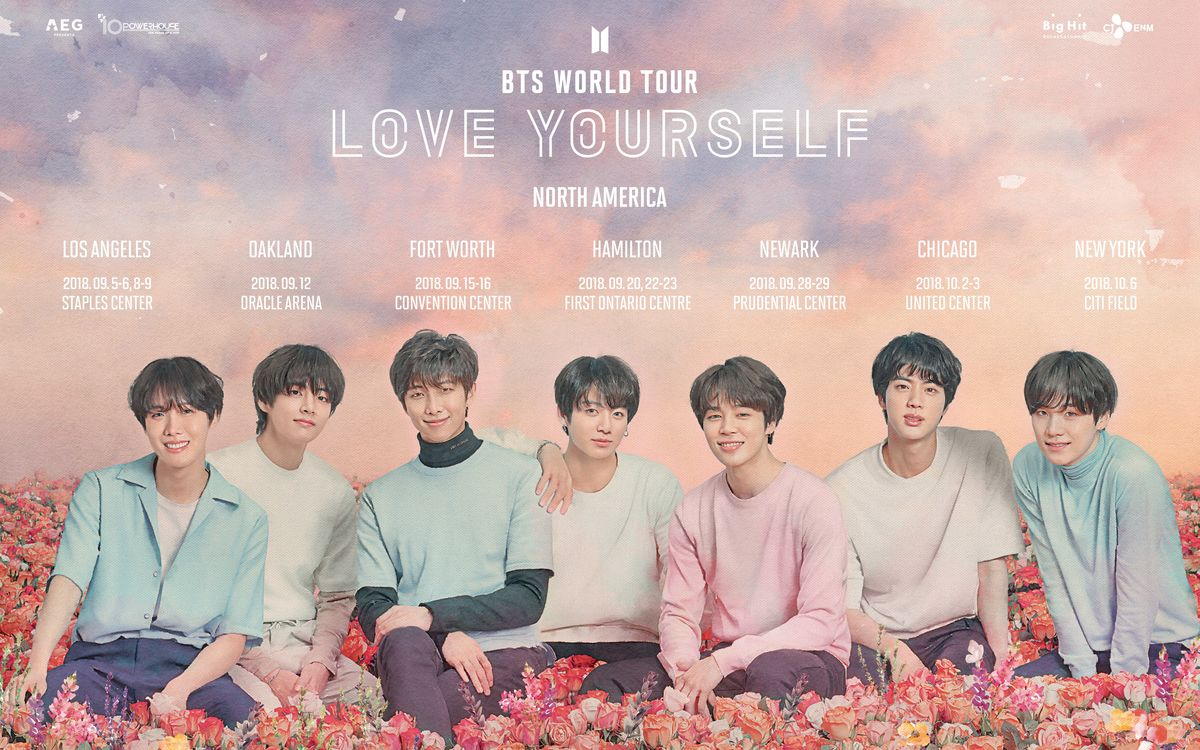 First-Ever North American Stadium BTS Concert to Take Place at Citi Field in New York as Part of the Sold Out 'LOVE YOURSELF' World Tour (Graphic: Business Wire)
