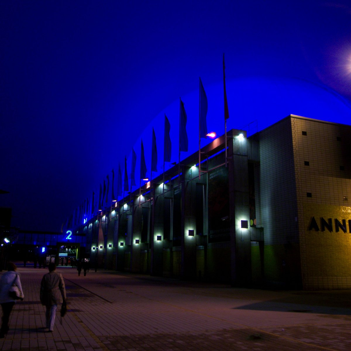 Exterior Image of Annexet at night