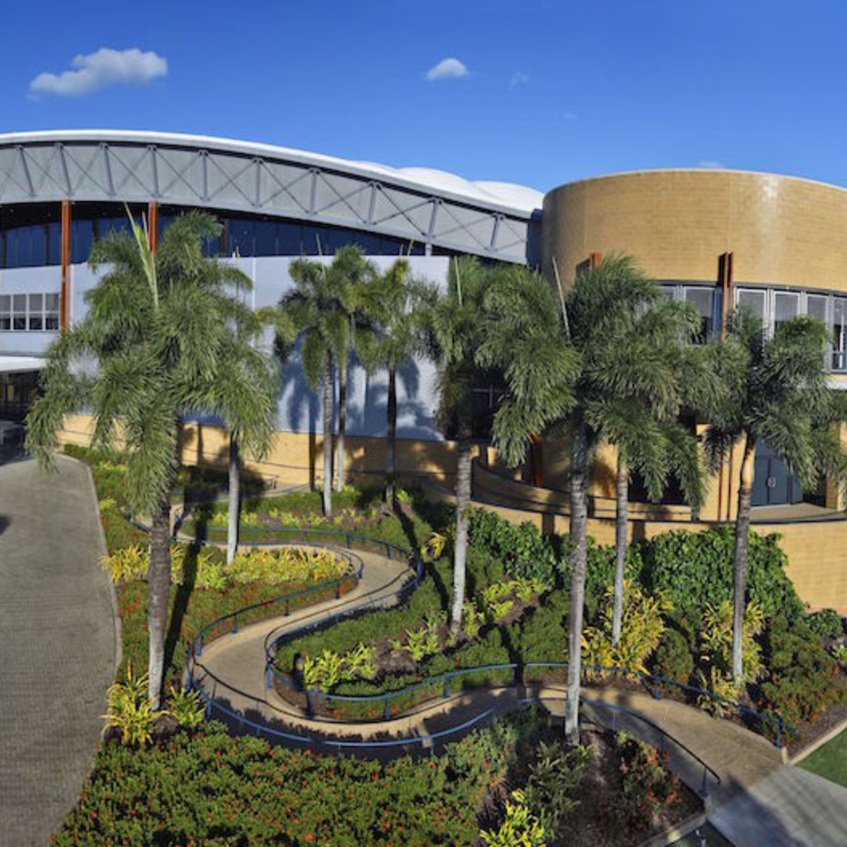 Exterior image of Cairns Convention Center