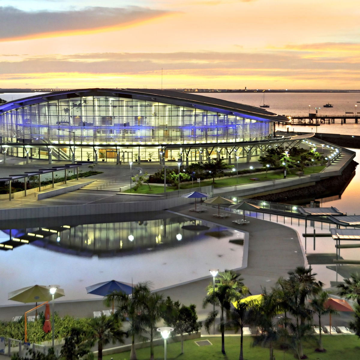 Exterior image of Darwin Convention Centre