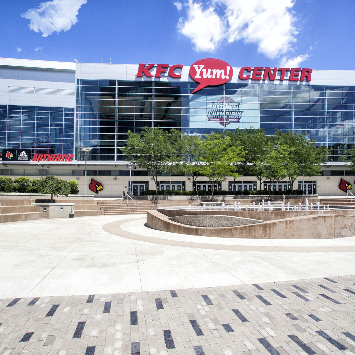 Exterior Image of KFC Yum! Center