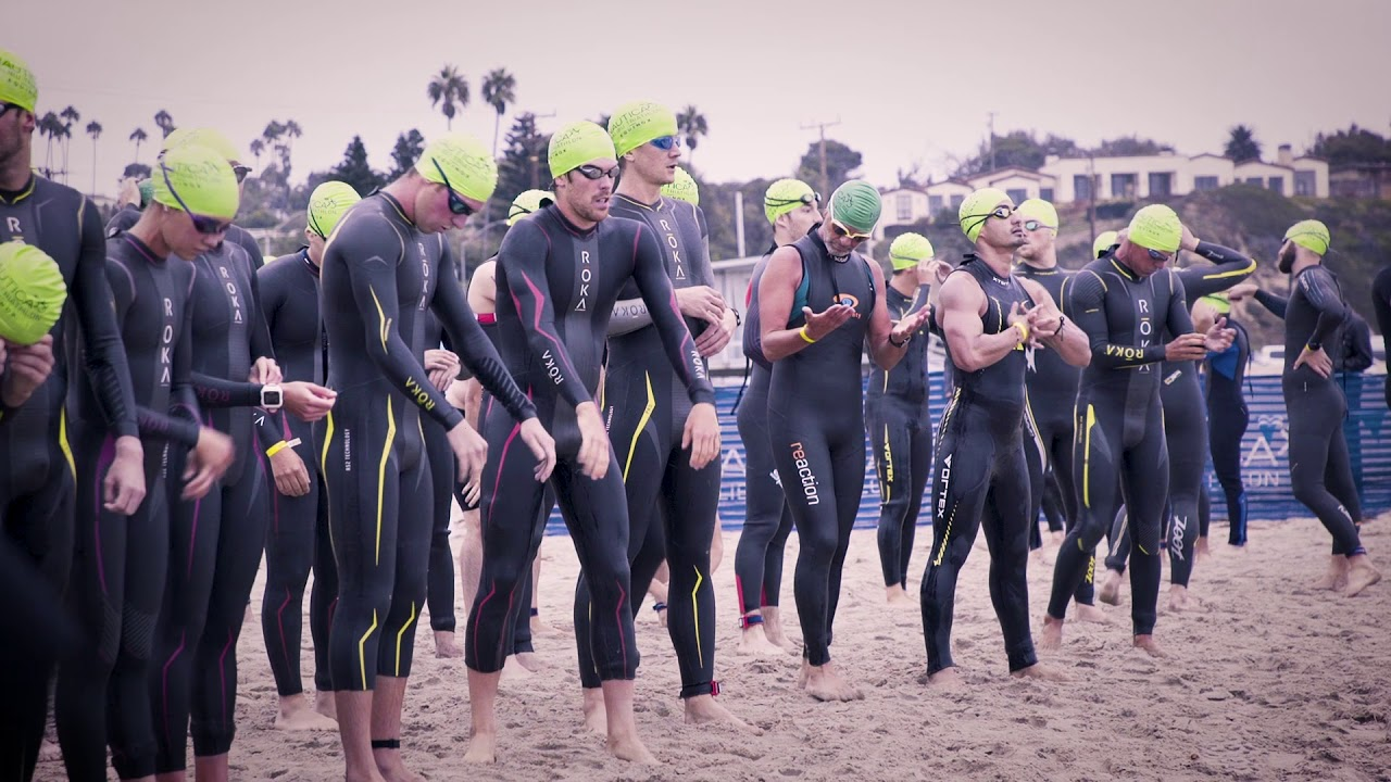 A video called AEG Triathlon Team will be played