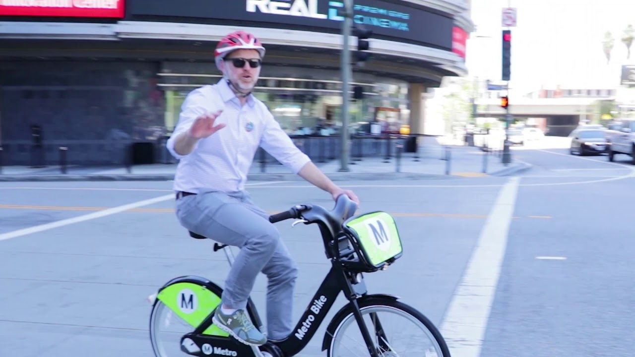A video called AEG Bike to Work - Subtitled will be played