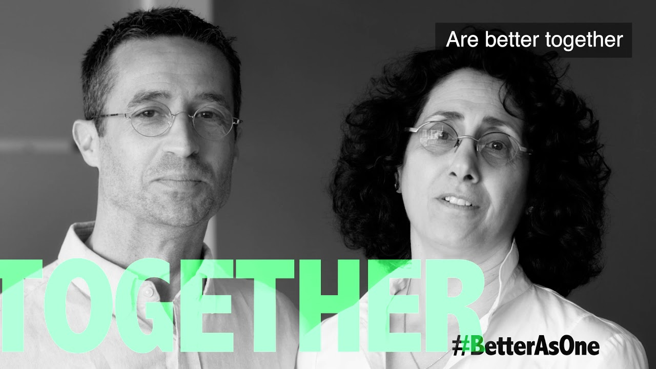 A video called #BetterAsOne - With Subtitles will be played